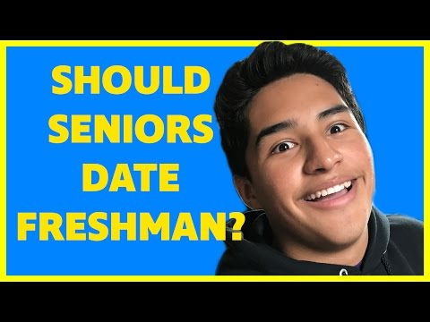 Is it weird? Seniors and Freshman Dating.