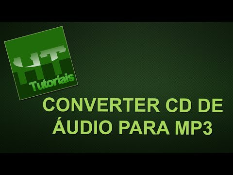 Converter CD de áudio em MP3 com o Windows Media Player