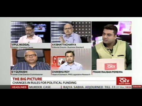 The Big Picture: Changes in rules for political funding