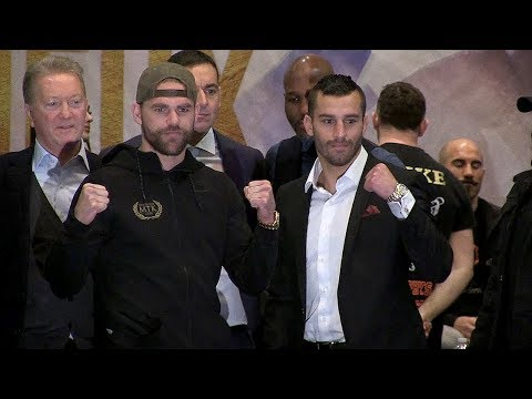 BJ SAUNDERS VS DAVID LEMIEUX - FULL FINAL PRESS CONFERENCE VIDEO - MONTREAL, CANADA