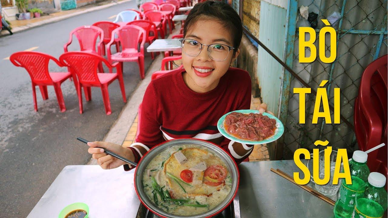 BÒ TÁI SỮA MÓN NGON LẠ MIỆNG Ở SÓC TRĂNG – asian food    YẾN TRẦN TV