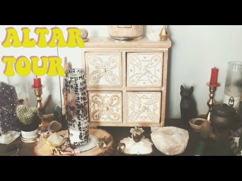 WICCAN ALTAR TOUR