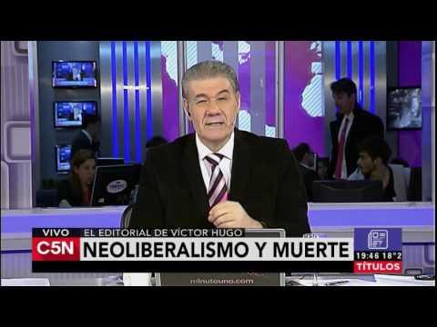 C5N - El Diario: Editorial Victor Hugo Mora