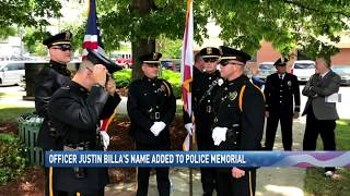 Justin Billa added to Alabama monument honoring fallen officers - NBC 15 News, WPMI