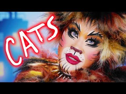 CATS BROADWAY MAKEUP TUTORIAL   PatrickStarrr