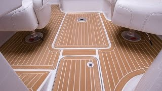 inexpensive faux teak marine boat decking