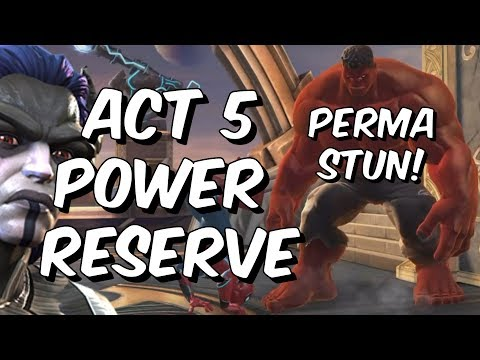 6 Champions That Easily Beat Act 5 Power Reserve - Act 5.3 - Marvel Contest of Champions