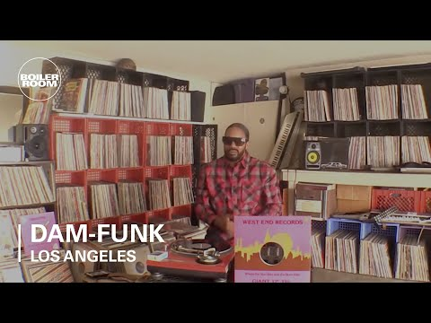 DâM-Funk | Boiler Room Collections