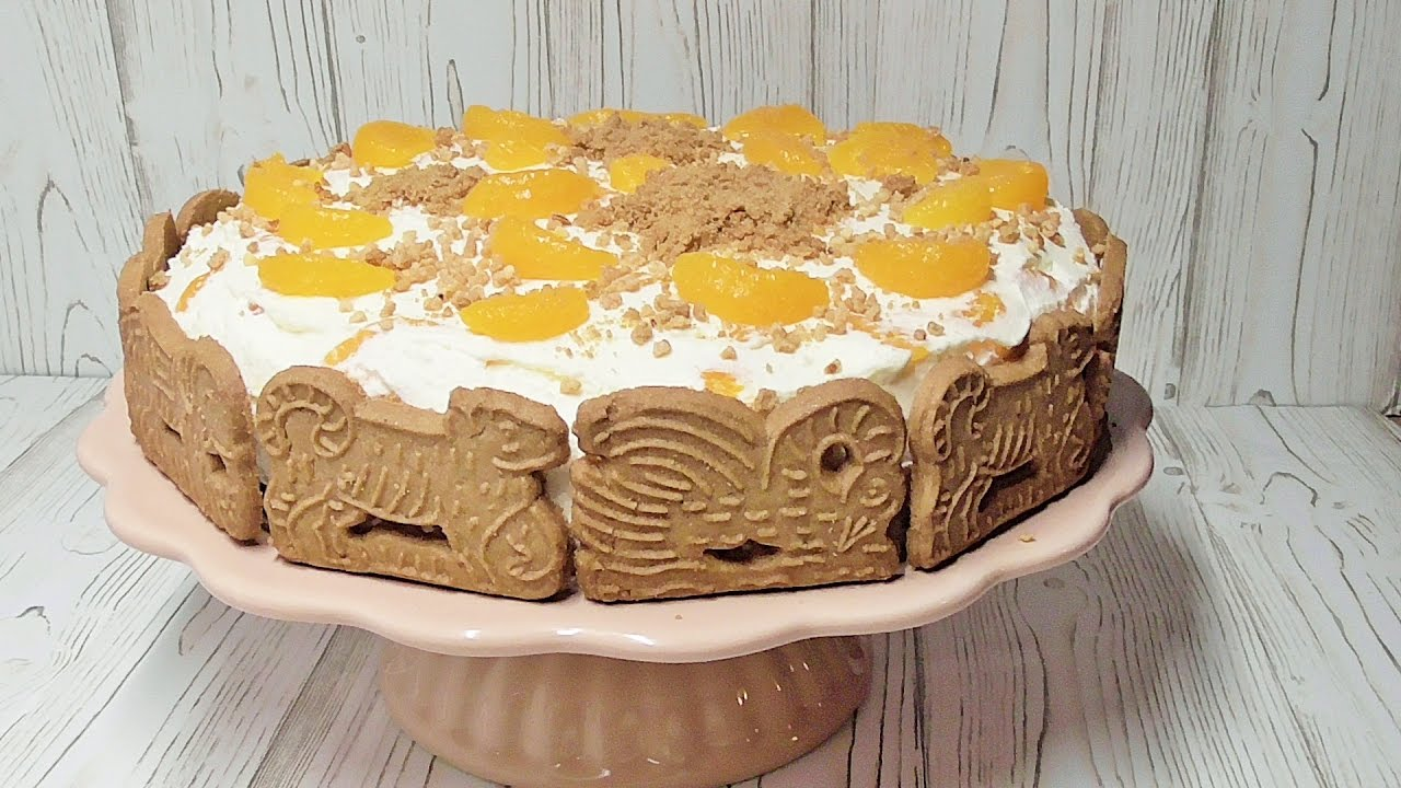 spekulatius kuchen torte mit mandarinen youtube. Black Bedroom Furniture Sets. Home Design Ideas