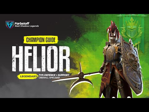Raid: Shadow Legends - Champion Guide - Helior - Support + DMG - geht das ?