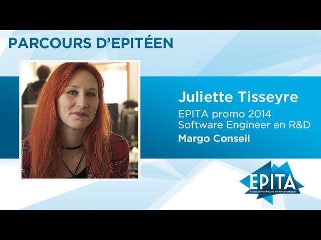 Parcours d'Epitéen - Juliette Tisseyre (promo 2014) - Margo Conseil