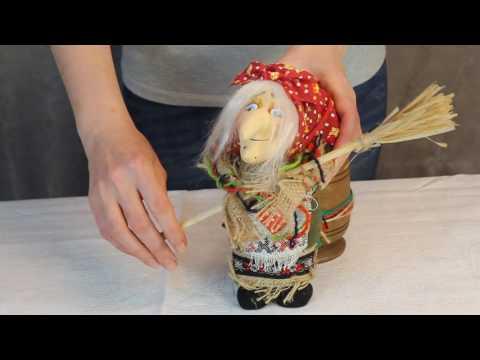 Баба Яга в ступе / www.artshop-rus.com