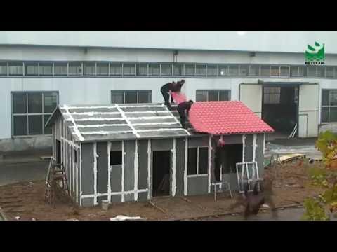 EPS Cement Sandwich Panel Prefabricated House