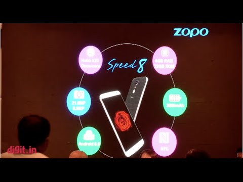 Zopo Speed 8 India Launch Conference | Digit.in