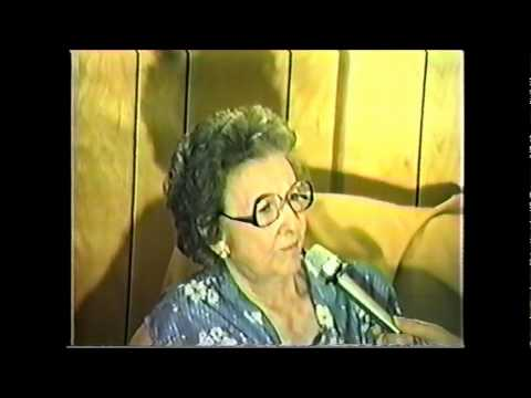 Interview with Ida McMurtry Barnett who lived in Janes Ranch House
