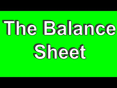 How to Prepare the Balance Sheet (Part 4 of 5) - YouTube