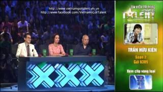 vietnams got talent 2012 - ban ket 5 - tran huu kien - ms 2