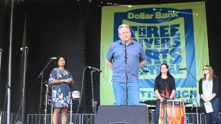 Introduction of World Music Day at the Pittsburgh 2013 Three Rivers Arts Fest