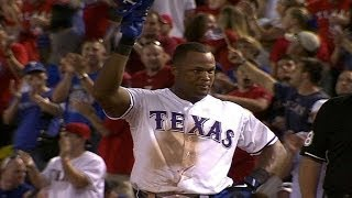 MIN@TEX: Beltre hits for the cycle