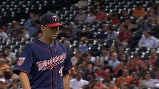 MIN@HOU: Milone limits Astros to two runs
