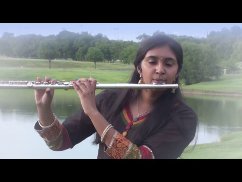 Rising Stars: Sahiti playing Ravi Varma ke (Instrumental for KARAOKE Track)