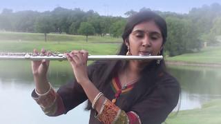 Rising Stars: Sahiti playing Ravi Varma ke (Instrumental for KARAOKE Track)