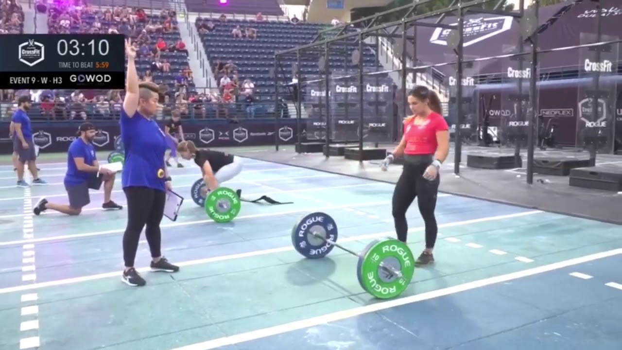 Download Jamie Greene gana el Evento 9 del Dubai CrossFit Championship 2019