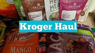 Kroger Haul for Clean Eating
