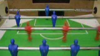 Foosball table soccer stolný futbal p jonček