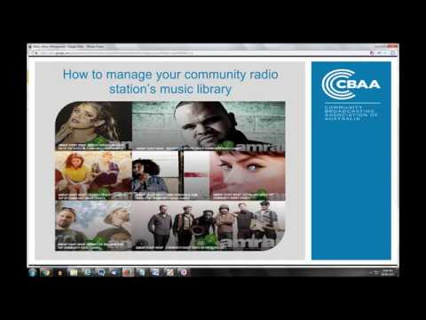 How to manage your community radio station's music library