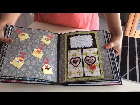 DIY: Cutest Birthday Scrapbook ideas   Handmade love scrapbook  for someone special   Easy card Idea