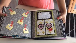 DIY: Cutest Birthday Scrapbook ideas | Handmade love scrapbook  for someone special | Easy card Idea