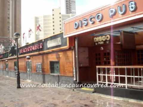English Square Benidorm Bars YouTube
