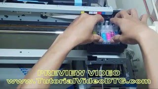 DVD Tutorial cara membuat Printer Kaos A3