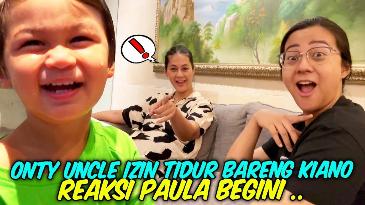 DI KASIH IZIN SAMA KAK PAULA TIDUR BARENG KIANO 24 JAM SEBELUM AUNTY SEA LAHIRAN !!! PART 1 !!!