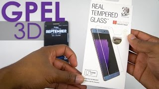GPEL Fullscreen Clear Tempered Glass - Galaxy Note7