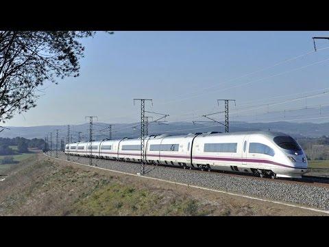 Aboard the AVE from Girona to Barcelona  Abordo del AVE de Girona Bcn
