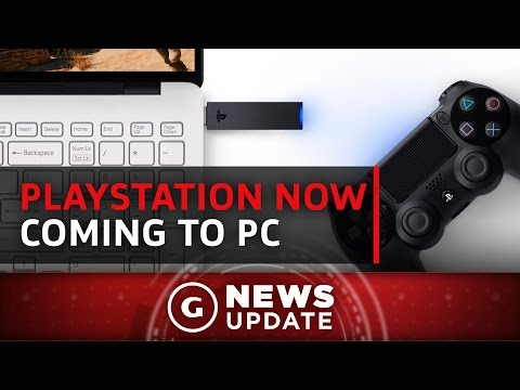 PlayStation Now Coming to PC - GS News Update