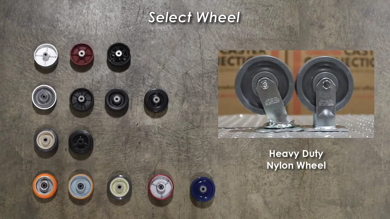 Heavy Duty Nylon Caster Wheels Your Caster Connection