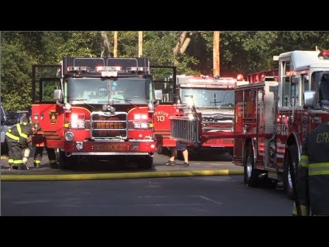 Steele Ave Dwelling Fire   9/25/17   Bristol Township