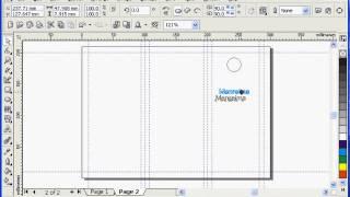 cara membuat brosur dengan corel draw