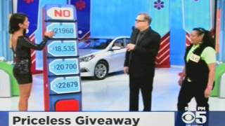 Manuela Arbelaez Price Is Right Model Car Giveaway By Mistake
