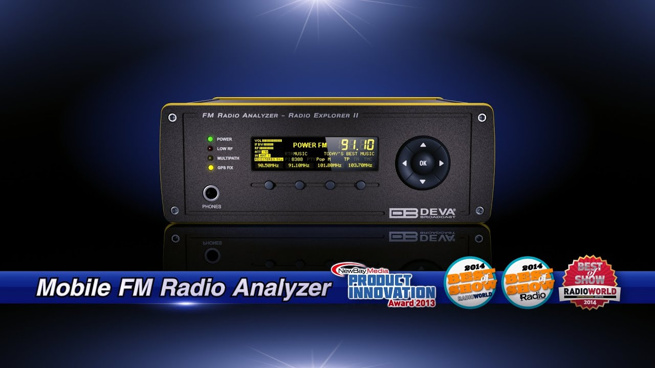 Radio Explorer 2 - Mobile FM Radio Analyzer