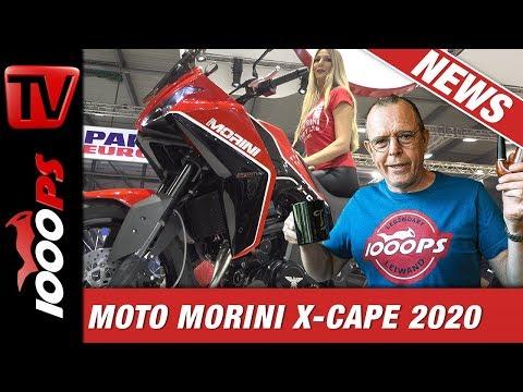 Reiseenduro News für 2020 - Moto Morini X-Cape - Wow!