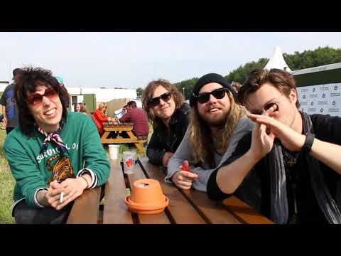 The Struts Interview | Download Festival 2018 (Body Talks, Freddie Mercury Biopic and New Music)