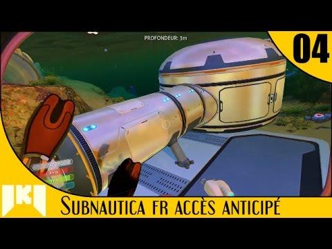 [FR] Subnautica Accès Anticipé – 04 –Test de construction de base