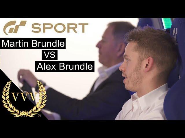 GT Sport Martin and Alex Brundle