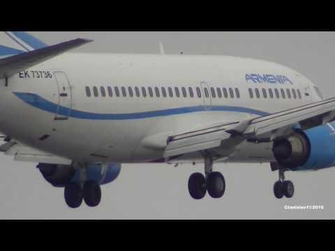 Boeing 737-505 EK73736 Aircompany Armenia. AGE (Jul 1996) 20 years
