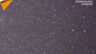 La plus intense pluie d'étoiles filantes des Perséides de l'été