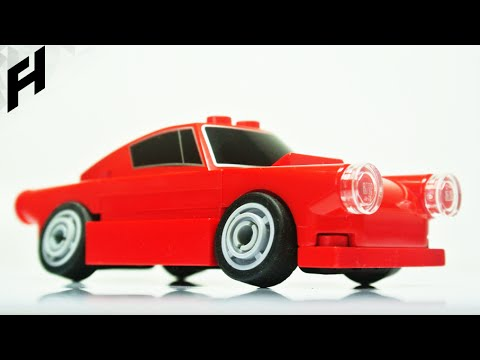 The Drift Car With Negative Camber Moc Youtube